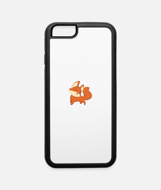 Design iPhone Cases - Fox – Cute Fox – Fox Lover – Fox Love - iPhone 6 Case white/black