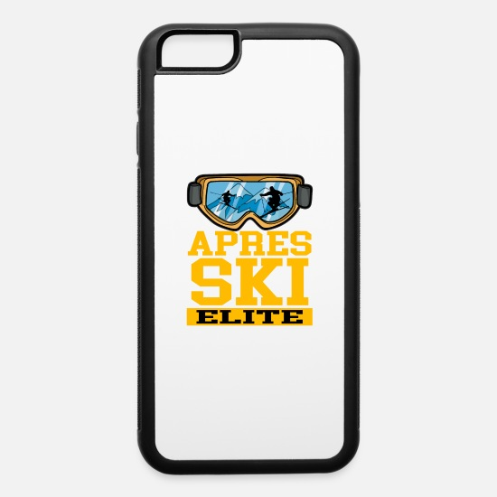 Trip iPhone Cases - APRES SKI ELITE - iPhone 6 Case white/black