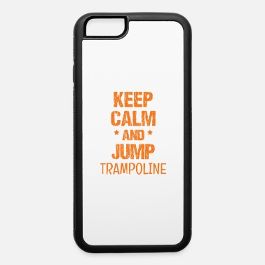 Gymnastic trampoline gymnastics jump to to sport jump gift - iPhone 6 Case