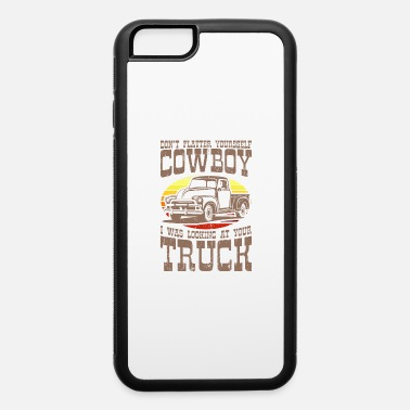 Car Don't Flatter Yourself Retro Classic Car Trucker - iPhone 6 Case