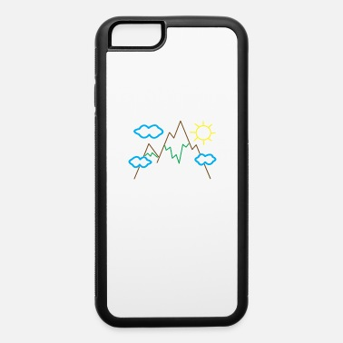 Declaration Of Love A cuddly declaration of love for alpine cycling! - iPhone 6 Case