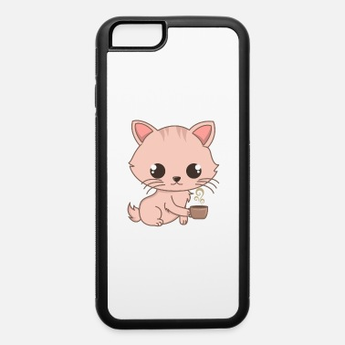 Cat Breed Cute Siam Cat And Coffee Gifts For Cat Lovers - iPhone 6 Case