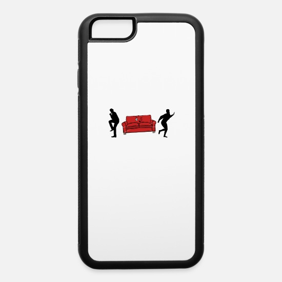 Adult iPhone Cases - Don't Worry I Pull Out Sexuality Suprise Sex Gift - iPhone 6 Case white/black