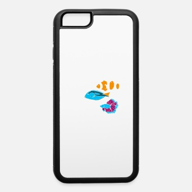 Marine Aquarium Gift Aquarist Tank Addiction Fish - iPhone 6 Case