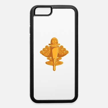 Aliens Quimbaya Gold Airplane Ancient Astronauts UFO Gift - iPhone 6 Case