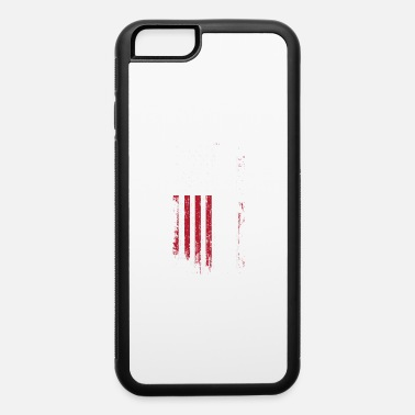 American Distressed Flag Vintage American USA Flag Cool Paintball - iPhone 6 Case