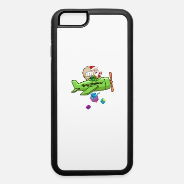 Christmas Carols Santa Claus Christmas Plane bombing Presents - iPhone 6 Case