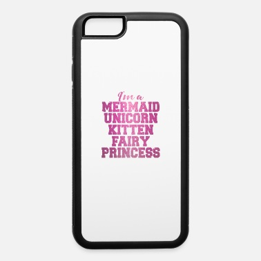 Rainbow Mermaid unicorn Kitten Cat Fairy Princess gift - iPhone 6 Case
