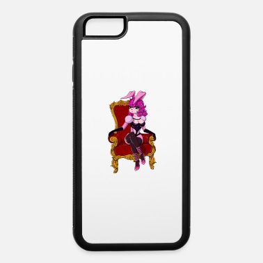 Submissive DOMINANCE BDSM Mistress Goddess Bunny Throne Brat - iPhone 6 Case