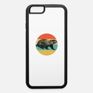 Groundpig Vintage Classic Retro color Happy Groundhog Day - iPhone 6 Case