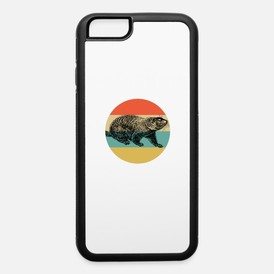 Chuck iPhone Cases - Vintage Classic Retro color Happy Groundhog Day - iPhone 6 Case white/black