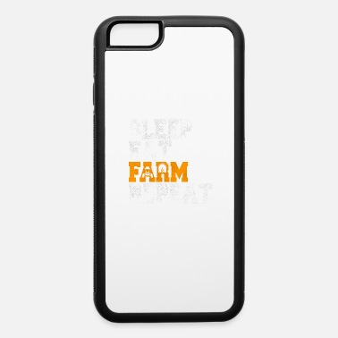 Beef Eat Sleep Farm Farmer Tractor Agriculture gift - iPhone 6 Case