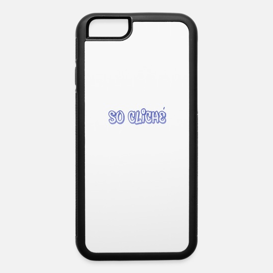 Symbol  iPhone Cases - So Cliche - Graffiti - Total Basics - iPhone 6 Case white/black