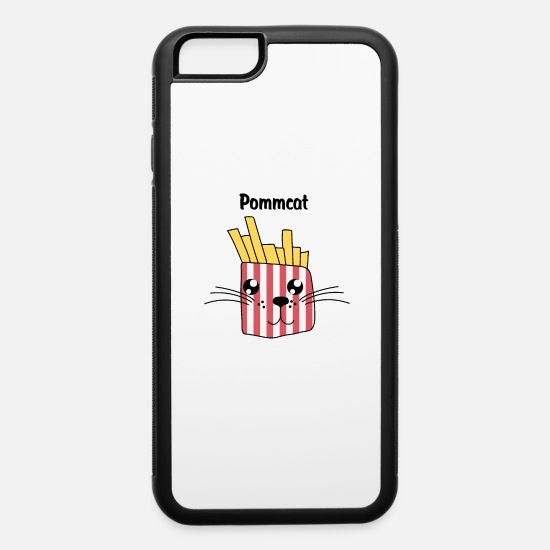 Theatre iPhone Cases - Pommcat - iPhone 6 Case white/black