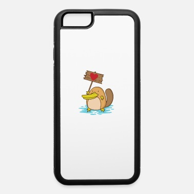 Mammal Platypus with heart Love Demo - iPhone 6 Case