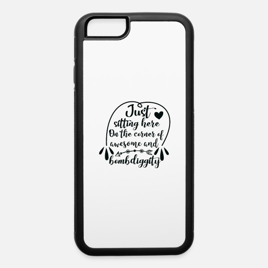 Cute iPhone Cases - Just - iPhone 6 Case white/black