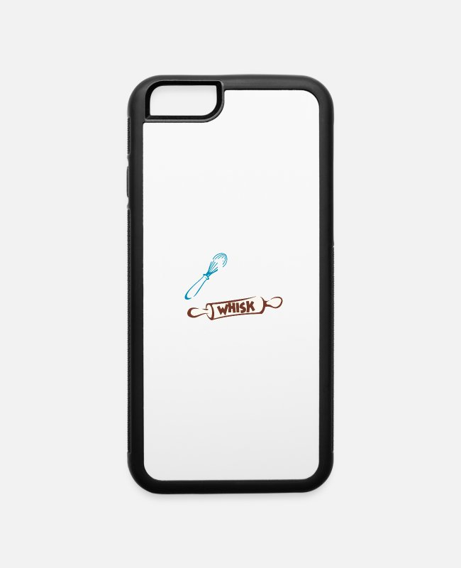 Restaurant iPhone Cases - Whisk Taker Cook Print Line Cook Print Chef - iPhone 6 Case white/black