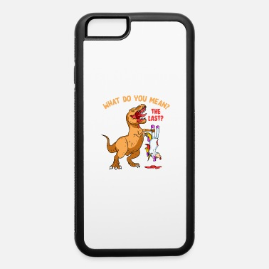 Eating Unicorn T-Rex Eating A Unicorn - Trex Eating Unicorn - iPhone 6 Case