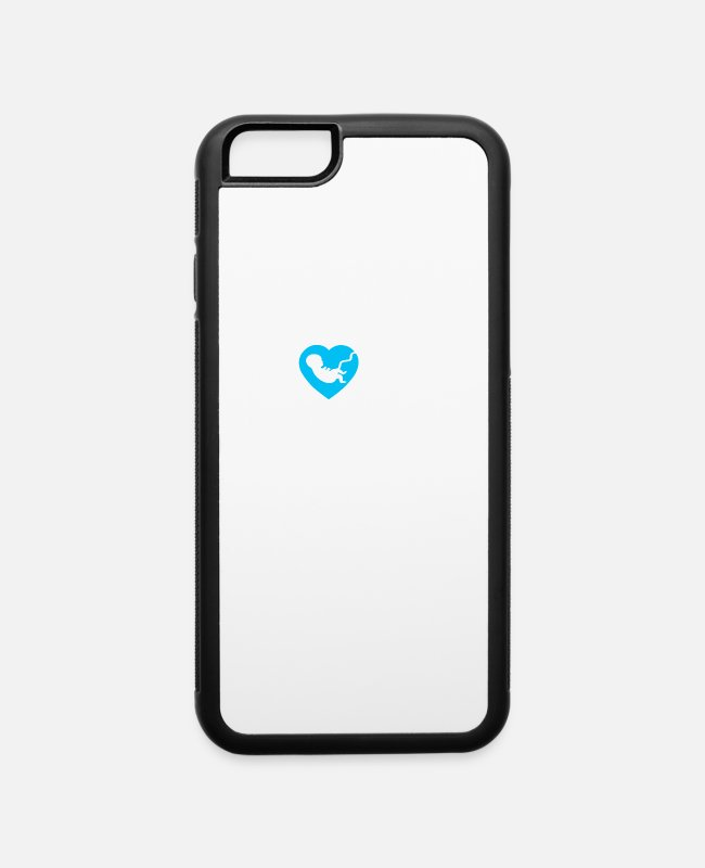 Prolife iPhone Cases - Pro Life Gift Anti Abortion Love Life Print - iPhone 6 Case white/black