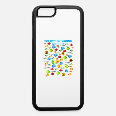 100 days of school swam by Ocean Fishing Lover Gif - iPhone 6 Case
