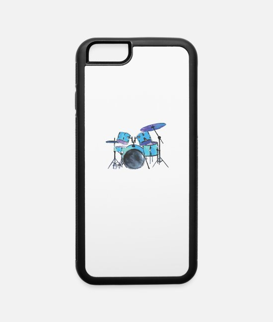 Drummer iPhone Cases - Drummer - iPhone 6 Case white/black