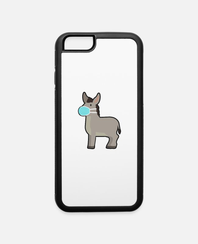Virus iPhone Cases - Donkey - iPhone 6 Case white/black