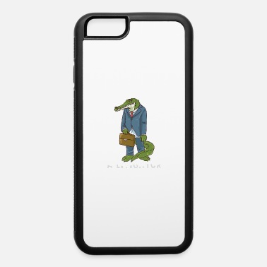 Funny Lawyer Puns A Litigator - iPhone 6 Case