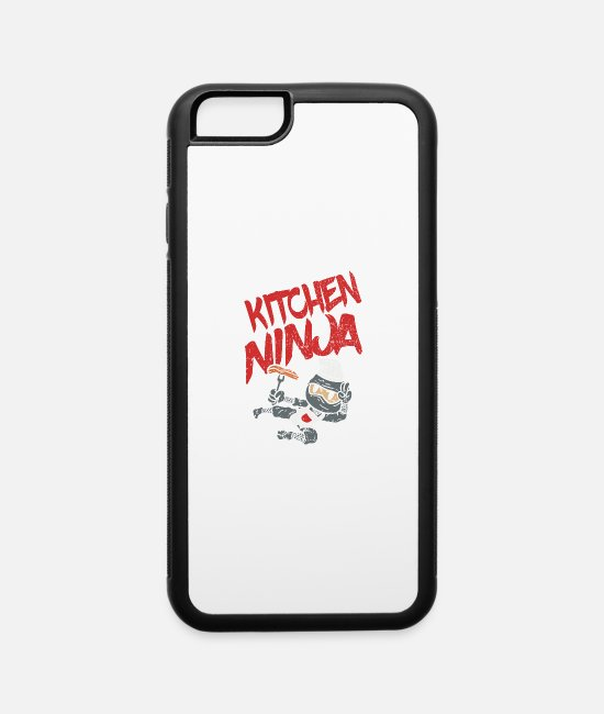 Occupation iPhone Cases - Kitchen Ninja Cooking BBQ - iPhone 6 Case white/black