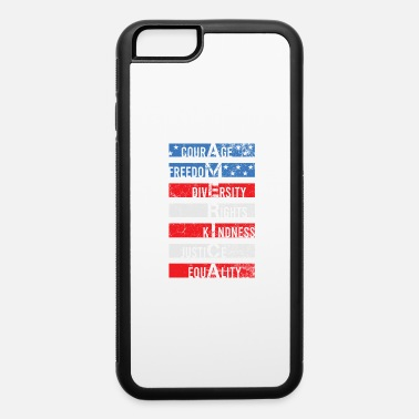 Freedom Justice Equality America Freedom Justice Equality Shirt - iPhone 6 Case