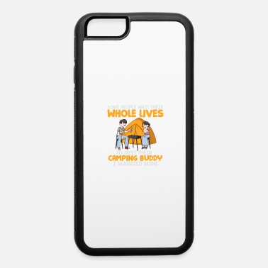 Bonfire Buddies Cute Married Husband Wife Family Camping Buddy - iPhone 6 Case