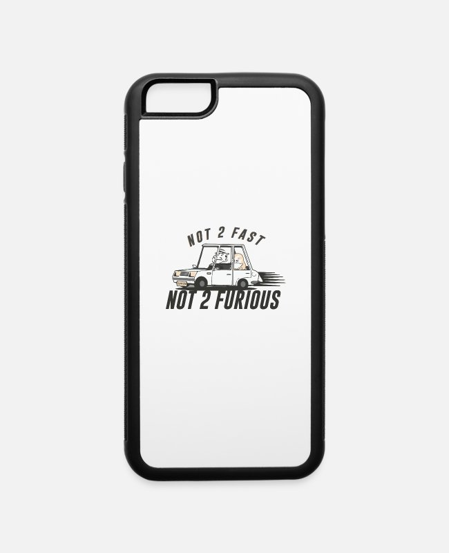 Lazy iPhone Cases - Sloth - iPhone 6 Case white/black