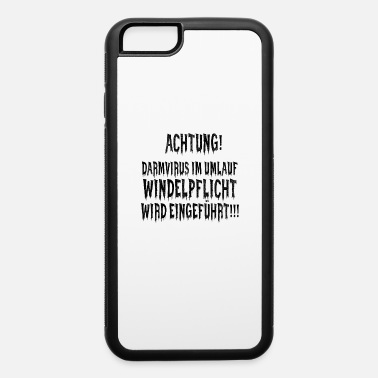 Right Of Demonstration CROSS THINKING - Viruses Virus - Gut Virus - Funny - iPhone 6 Case