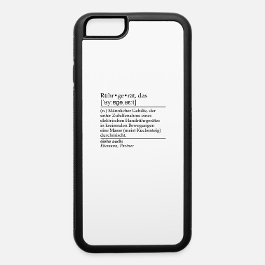 Wif Rührgerät definition for Husband who helps his wif - iPhone 6 Case