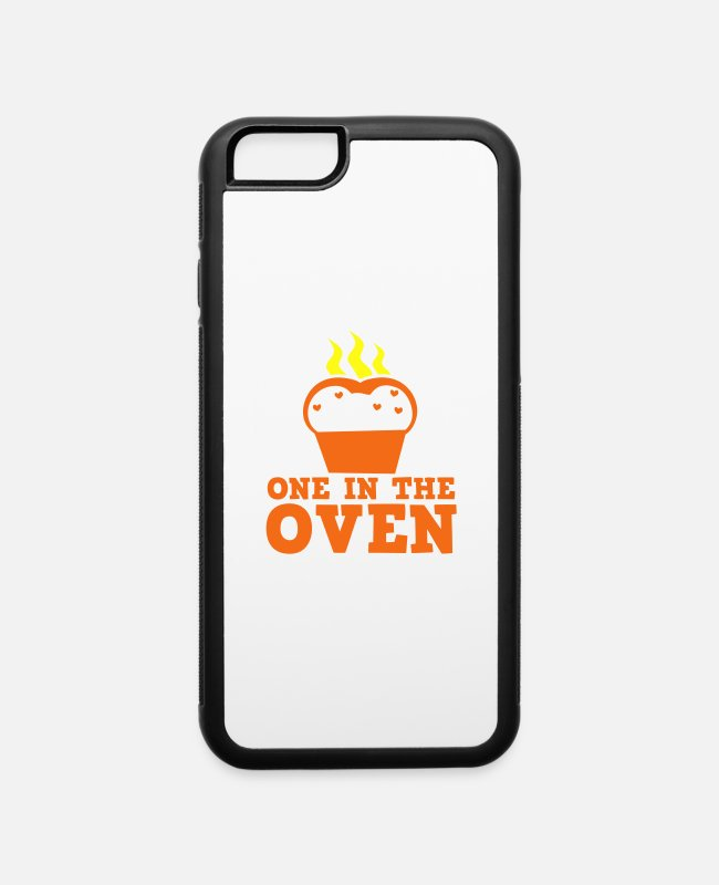 Pregnancy iPhone Cases - hot bread one in the oven Pregnancy Baby - iPhone 6 Case white/black
