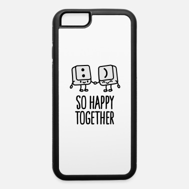 Programmer Keyboard keys smiley - So happy together - iPhone 6 Case