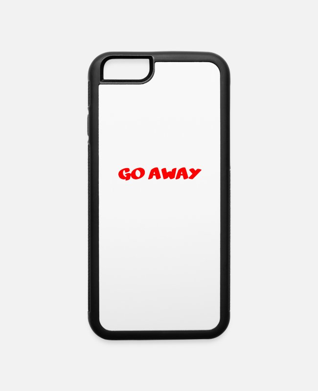 Introverting iPhone Cases - I'm introverting - iPhone 6 Case white/black