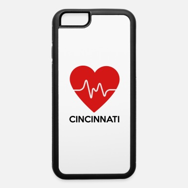Cincinnati Heart Cincinnati - iPhone 6 Case