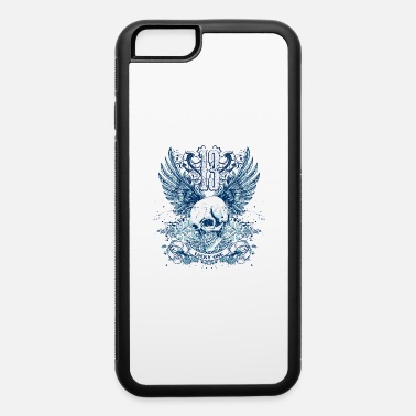 Lucky 13 lucky skull 13 with wings - iPhone 6 Case