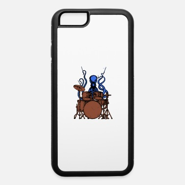 Colorful Octopus Octopus plays drums colored - iPhone 6 Case