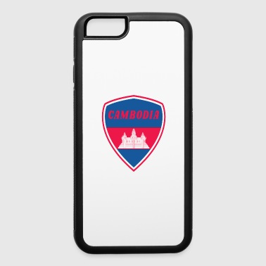 Cambodia coat of arms - iPhone 6/6s Rubber Case