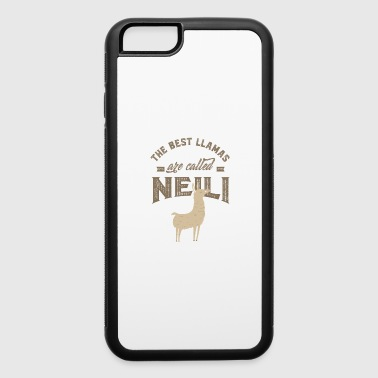 Name THE BEST LLAMAS ARE CALLED NEILI - iPhone 6/6s Rubber Case