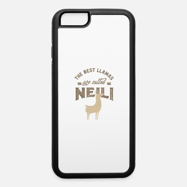 First Name THE BEST LLAMAS ARE CALLED NEILI - iPhone 6/6s Rubber Case