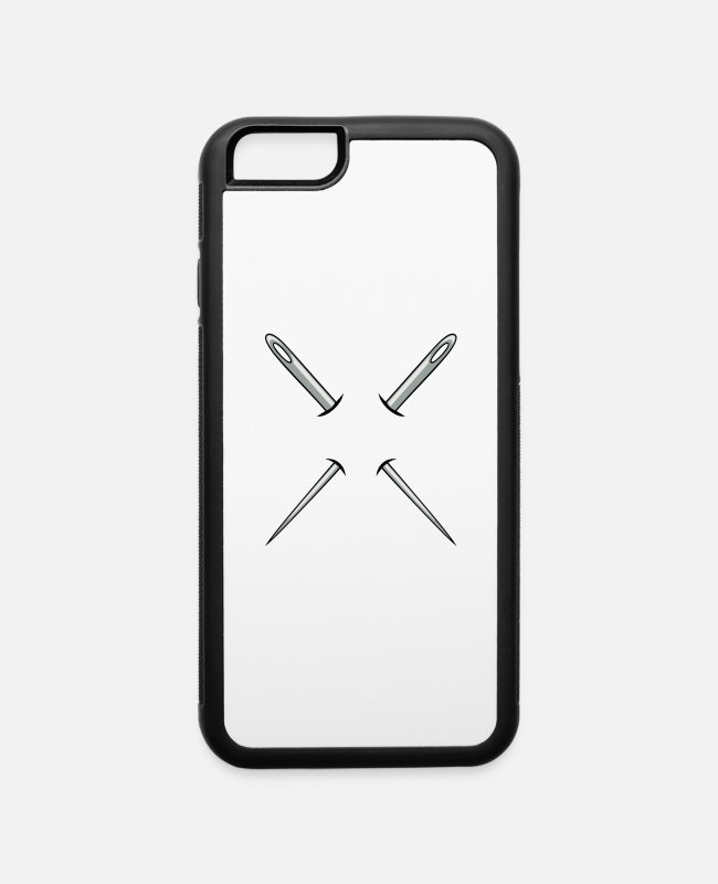 A Tailor iPhone Cases - Needle - iPhone 6 Case white/black