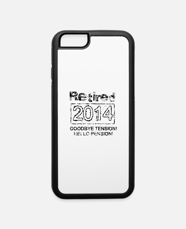 Teenager iPhone Cases - retired 2014 - iPhone 6 Case white/black