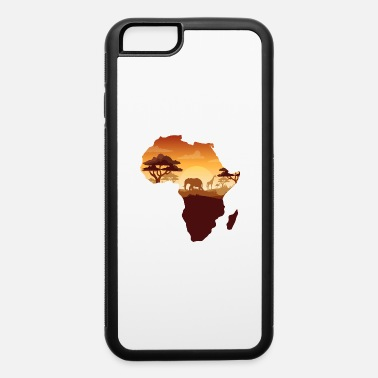 Map Africa Map - iPhone 6 Case