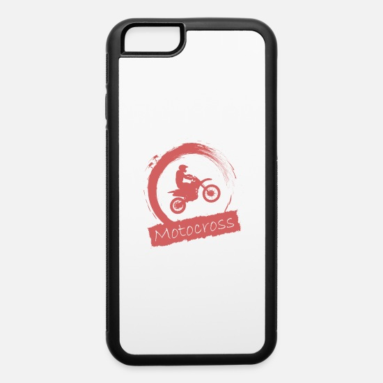 Race Track iPhone Cases - Motocross - iPhone 6 Case white/black