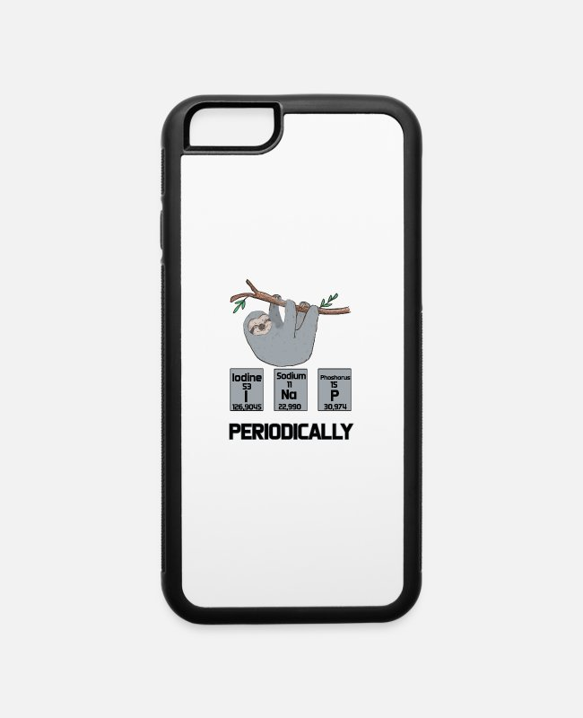 Periodic Table iPhone Cases - Periodically - iPhone 6 Case white/black