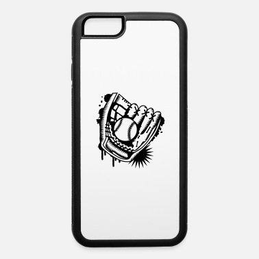 Baseball Glove A baseball glove with a baseball - iPhone 6 Case
