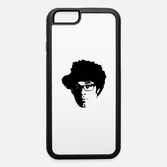 Crowd iPhone Cases - Moss - The IT Crowd - iPhone 6 Case white/black