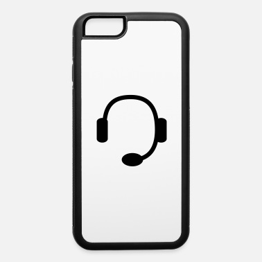 Headset headset - iPhone 6 Case